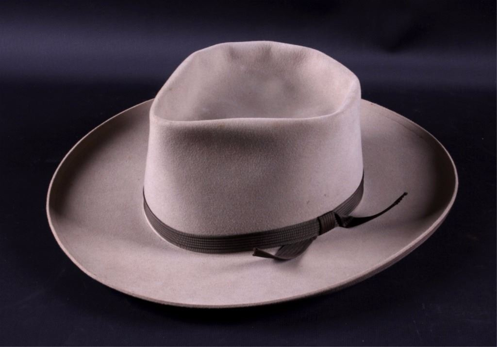 ... Image 4   Stetson 3X Beaver Cowboy Hat with Box ... 3e6c2bf7c50
