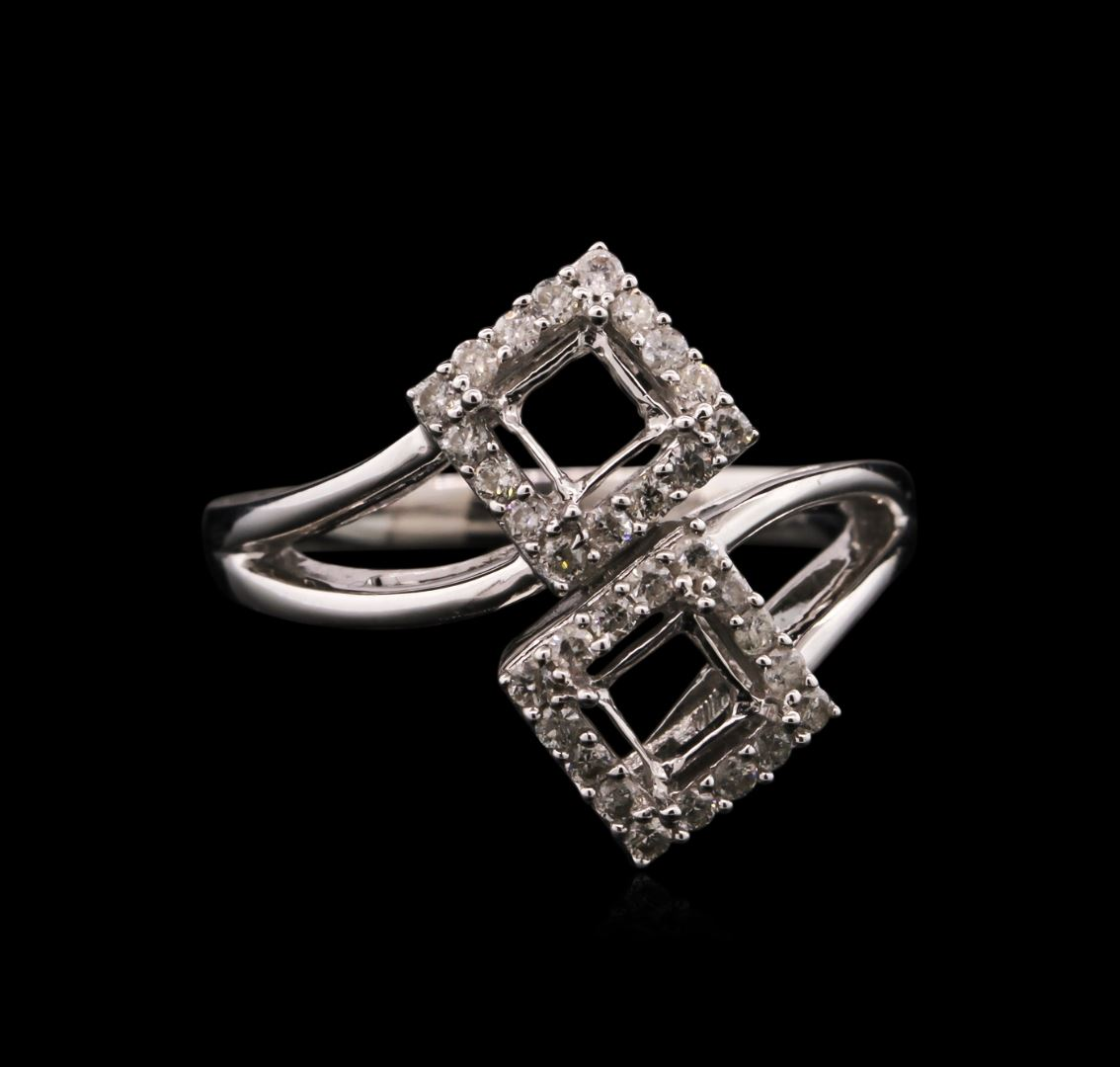 0 33ctw ring 14kt white gold