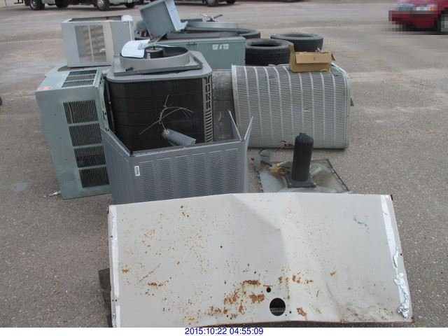 General Property Ac Units Covers Tires Water Heater