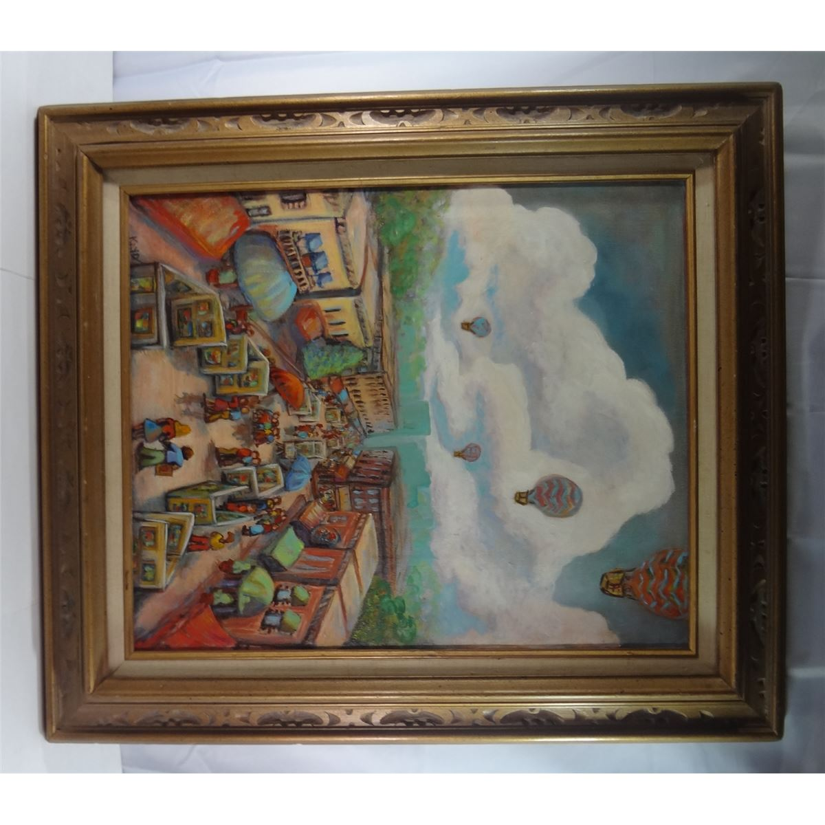 Signed Kayo Oil Painting - Framed 24\