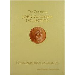 Special Edition Adams Large Cents, with Photographic Plates