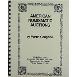 Eighth Edition Gengerke Guide to Auctions