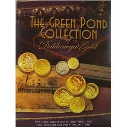 The Green Pond Collection of Dahlonega Gold