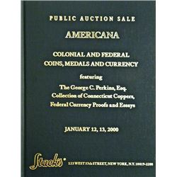 The 2000 Americana Sale, Featuring the Perkins Connecticuts