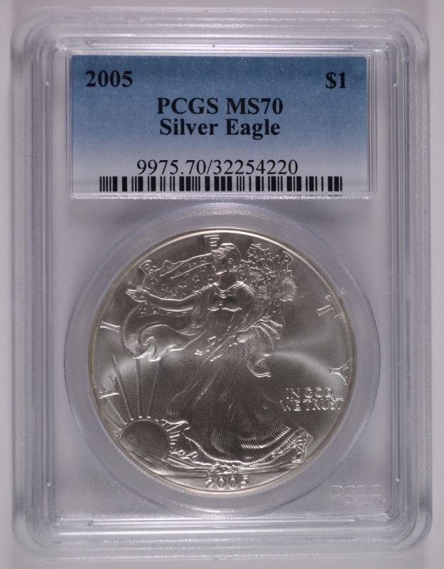 pcgs silver eagle price guide