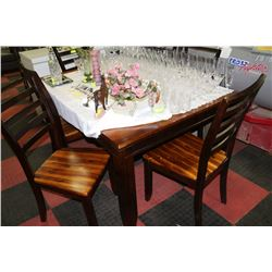 2 Tone Kitchen Table W 6 Chairs