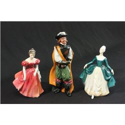 3 Royal Doulton Figures