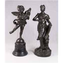 2 Bronze Sculptures