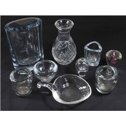 Lot of Steuben, Orrefors, & Other Swedish Glass