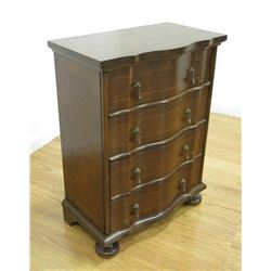 George II Style Walnut Small Chest