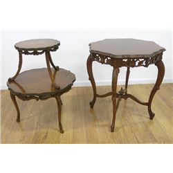 Two French Style Tables