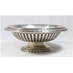 European 800 Silver Compote Stand