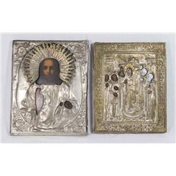 2 Late 19th Century Russian Icons
