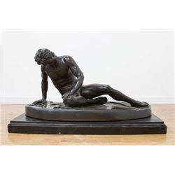 """Bronze Figure, """"The Dying Gaul"""""""