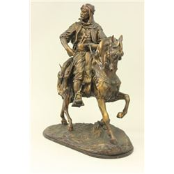 Orientalist Arab Man on Horse