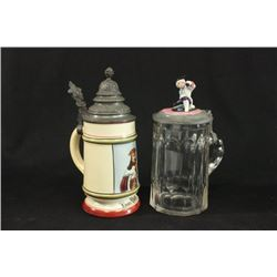Lot of Two Steins