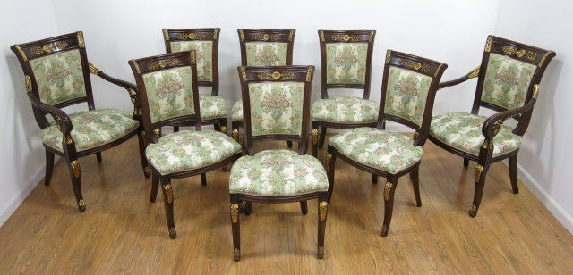 8 Empire Style Dining Chairs. Loading Zoom