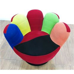 """Upholstered """"Hand"""" Chair"""