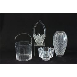 Lot of Cartier, Orrefors, & Waterford Cutglass