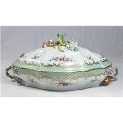 French Porcelain Covered Casserole