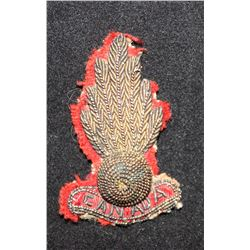 B5. Royal Canadian Artillery BERET badge