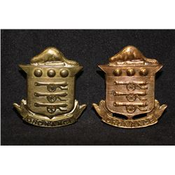 B21. Canadian Ordnance Corps Cap/Collar badge lot