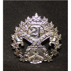 B26. 21st Gault Collegiate Institute Cadet Corps Cap badge