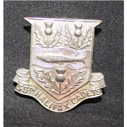 B27. 35th Halifax County Academy Cadets Cap Badge