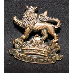 B34. 6th Duke of Connaught's, Royal Canadian Hussars Cap Badge