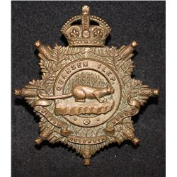 B44. 30th British Columbia Horse Cap Badge