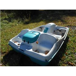 5 PERSON PADDLE BOAT