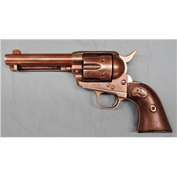 """Colt SAA, .45 Long Colt, 4 3/4"""", shows cowboy, all matching serial numbers, sn 226898, made 1902, si"""