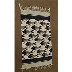"""Navajo weaving, fish pattern, 32"""" x 56"""", excellent condition"""