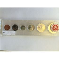 Year set in Capitol Plastic Holder; 1967 all coins untoned.