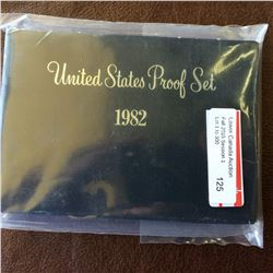 USA Mint; Proof set 1982 in case and boxe.