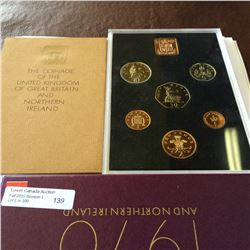 Great Britain & Northern Ireland; 1970 Proof set in packaging.