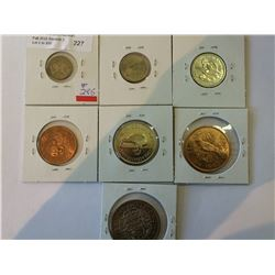 New Zealand coins set 1965 mint state