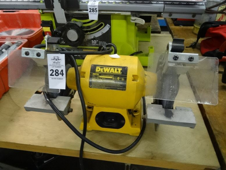 Dewalt Bench Grinder Dw756 Bay Area Auction Services