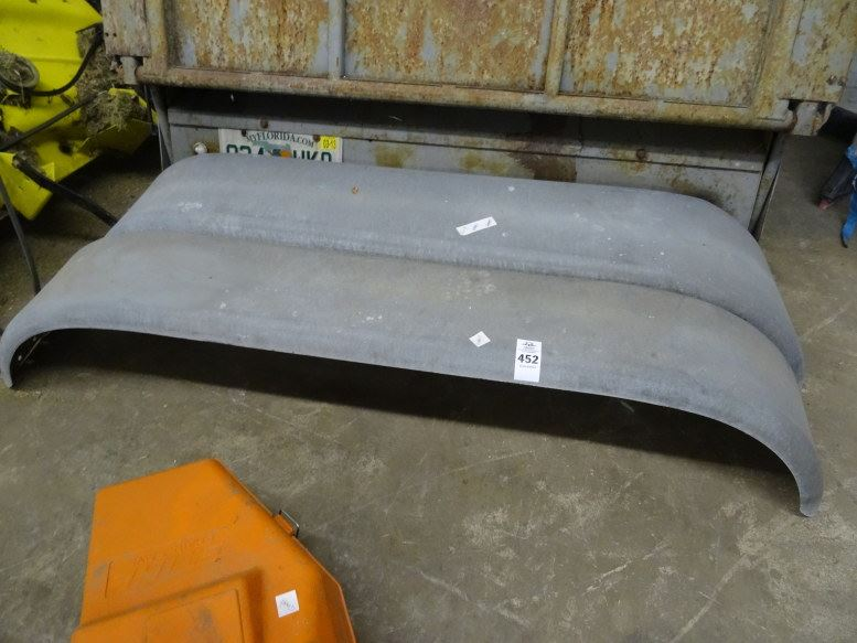 Dually Trailer Fenders : Dual axle trailer fenders times the money