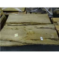 8 Curly Live Oak Rough Cut 4' Boards - 8 Times the Money
