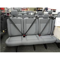 4 Grey Bench Seats - 4 Times the Money