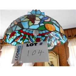 Stained Glass Lighting Fixture