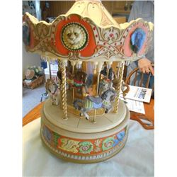 MECHANICAL TABLE TOP CAROUSEL