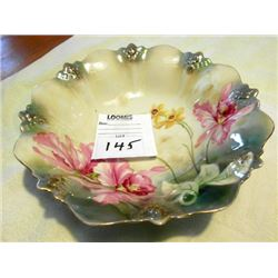 R S GERMAN HAND PAINTED BOWL
