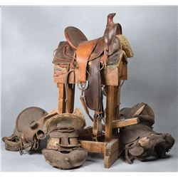 Comprehensive Collection of Saddle Shop Tools
