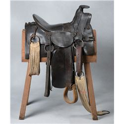 Early Denver Manufacturing Saddle