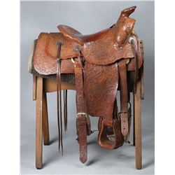 Carl Carlock's Personal Saddle