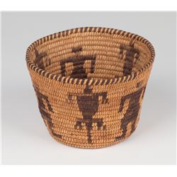 Pima Pictorial Basket