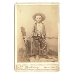 H. Moehring (Uvalde, TX) Cabinet Card