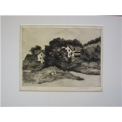 Anthony Paglinea, Etching